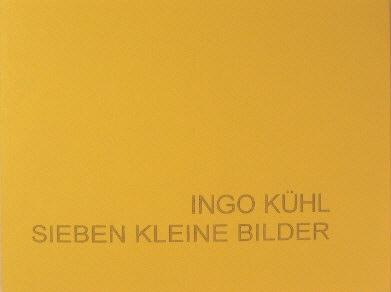 99 Expl., num., sign., 11,5 x 15,5 cm, 28 S., 7 Farbabb., * Keitum 2003 <br><h3>vergriffen</h3>